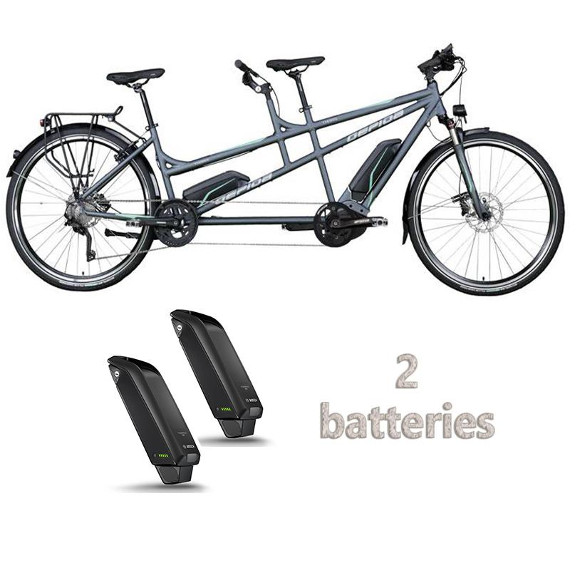location tandem électrique - vélo emeraude